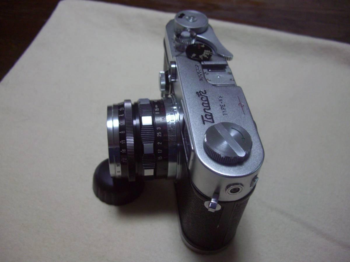 希少 田中光学 タナック V3 TANACK TYPE- V3 +  TANAR 5cm f1.9  50mm f1.9 TANAK KOGAKU JAPAN L39マウント_画像4