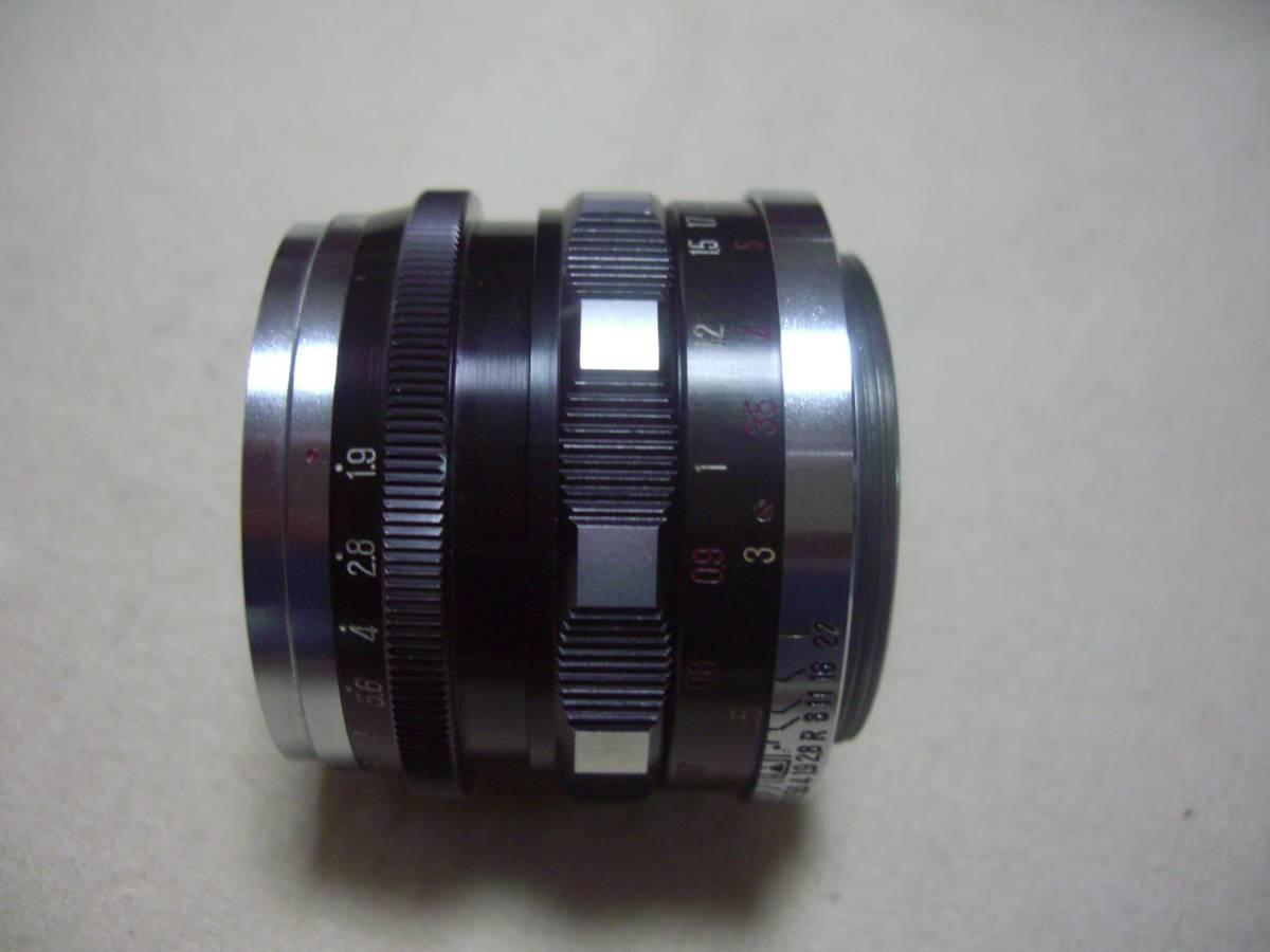 希少 田中光学 タナック V3 TANACK TYPE- V3 +  TANAR 5cm f1.9  50mm f1.9 TANAK KOGAKU JAPAN L39マウント_画像9