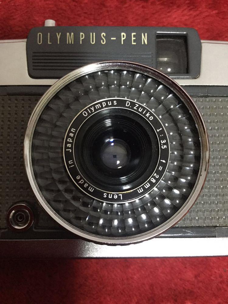 ns268 OLYMPUS オリンパス PEN【EE-2】D.Zuiko 1:3.5 f=28mm_画像3