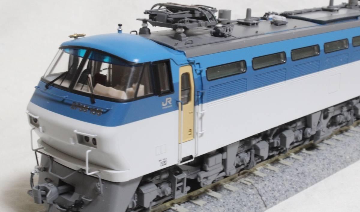 《走行僅少・美品》 TOMIX  HO-137  JR EF66-100形電気機関車(前期型) パンタ塗装 手すり・ステップ・手掛け金属製_画像6