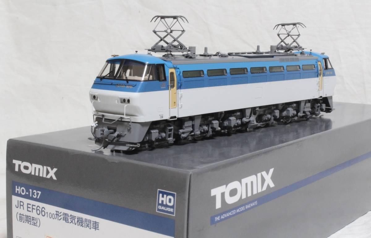 《走行僅少・美品》 TOMIX  HO-137  JR EF66-100形電気機関車(前期型) パンタ塗装 手すり・ステップ・手掛け金属製
