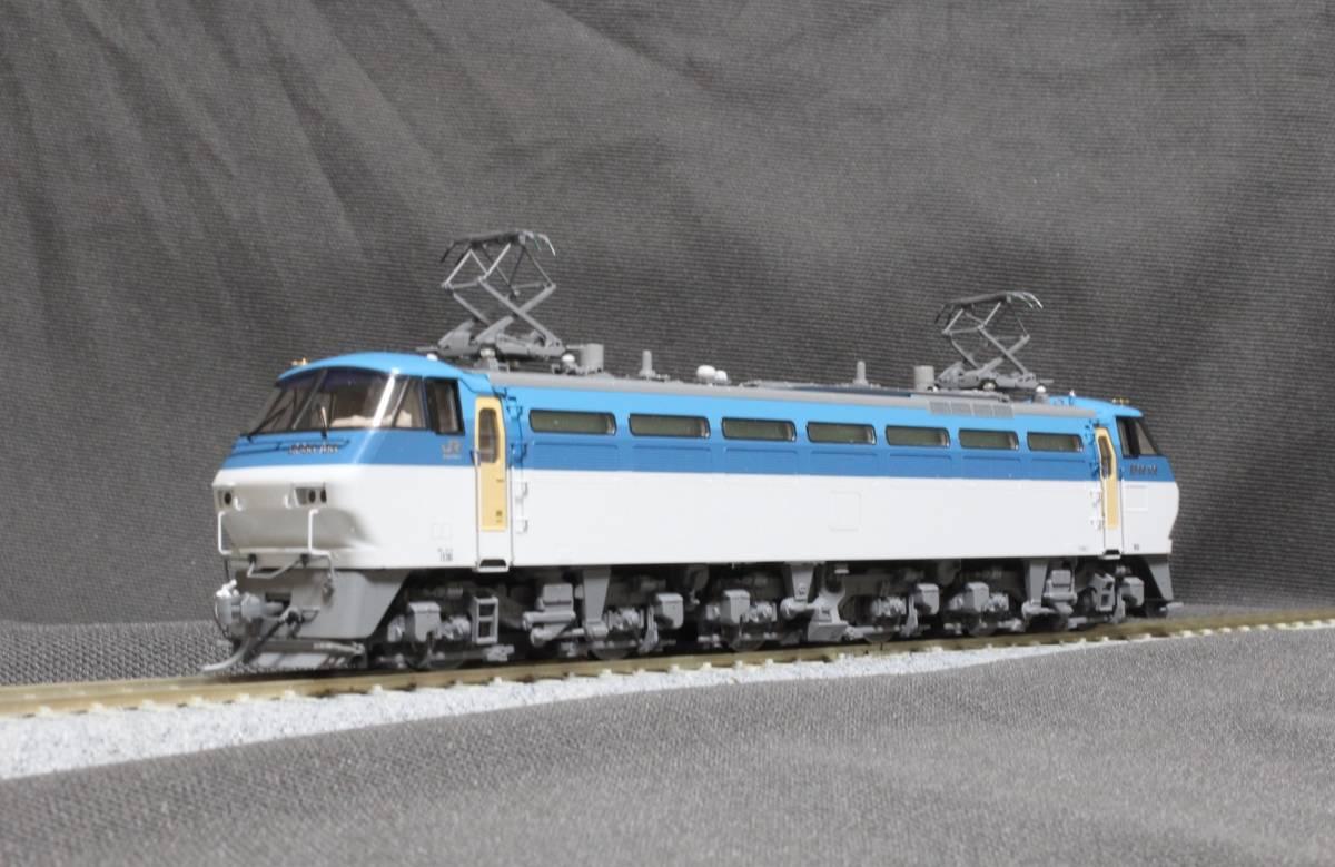 《走行僅少・美品》 TOMIX  HO-137  JR EF66-100形電気機関車(前期型) パンタ塗装 手すり・ステップ・手掛け金属製_画像3