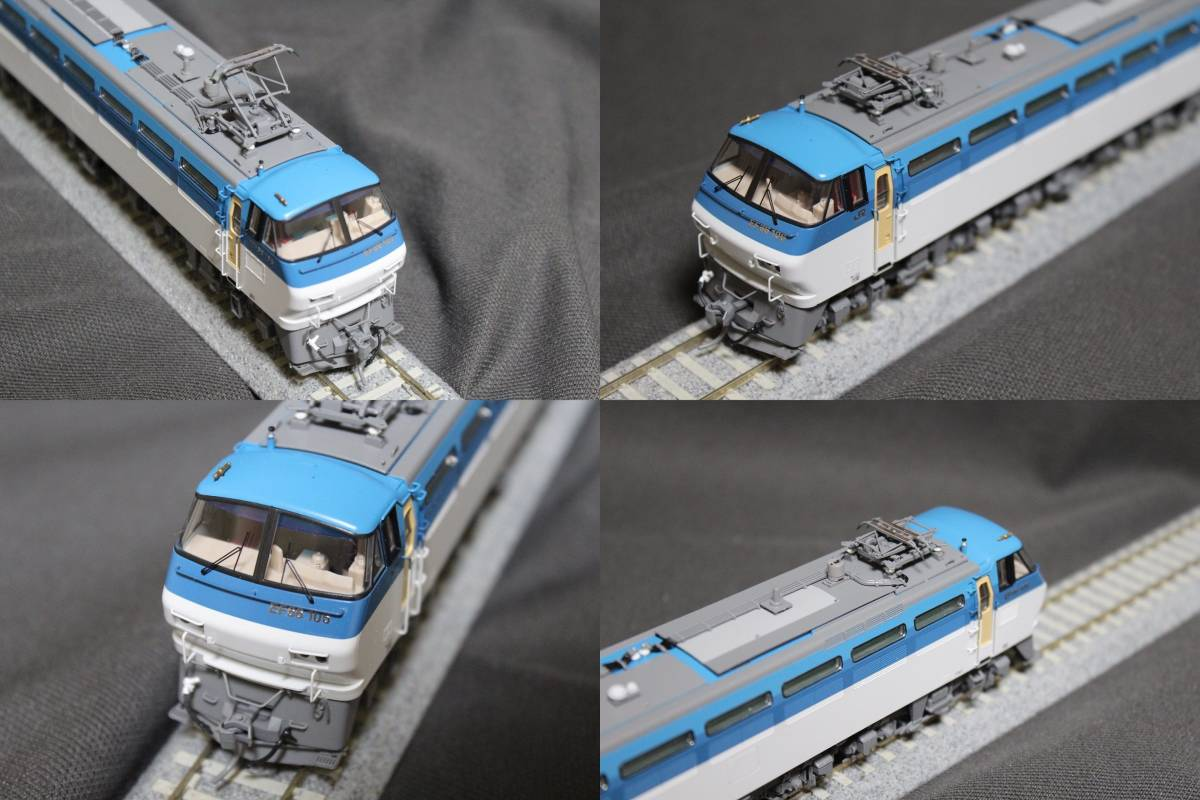 《走行僅少・美品》 TOMIX  HO-137  JR EF66-100形電気機関車(前期型) パンタ塗装 手すり・ステップ・手掛け金属製_画像7
