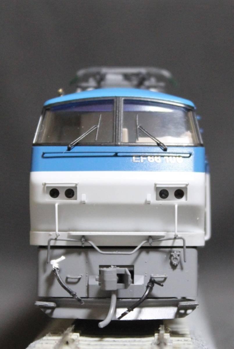 《走行僅少・美品》 TOMIX  HO-137  JR EF66-100形電気機関車(前期型) パンタ塗装 手すり・ステップ・手掛け金属製_画像5