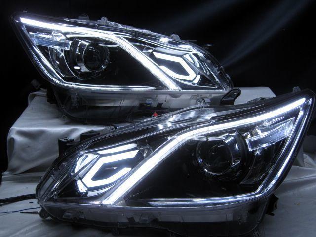 GRS210 クラウン アスリートG AWS210 シーケンシャルウインカー ヘッドライト 210_画像1