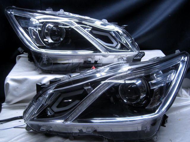 GRS210 クラウン アスリートG AWS210 シーケンシャルウインカー ヘッドライト 210_画像3