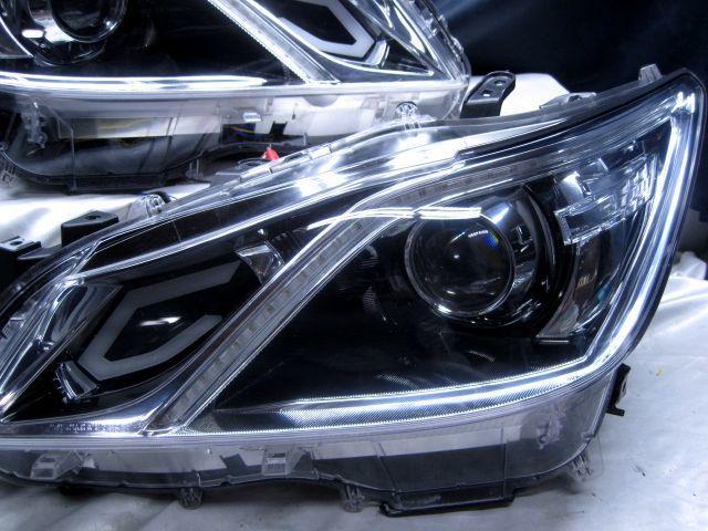 GRS210 クラウン アスリートG AWS210 シーケンシャルウインカー ヘッドライト 210_画像7