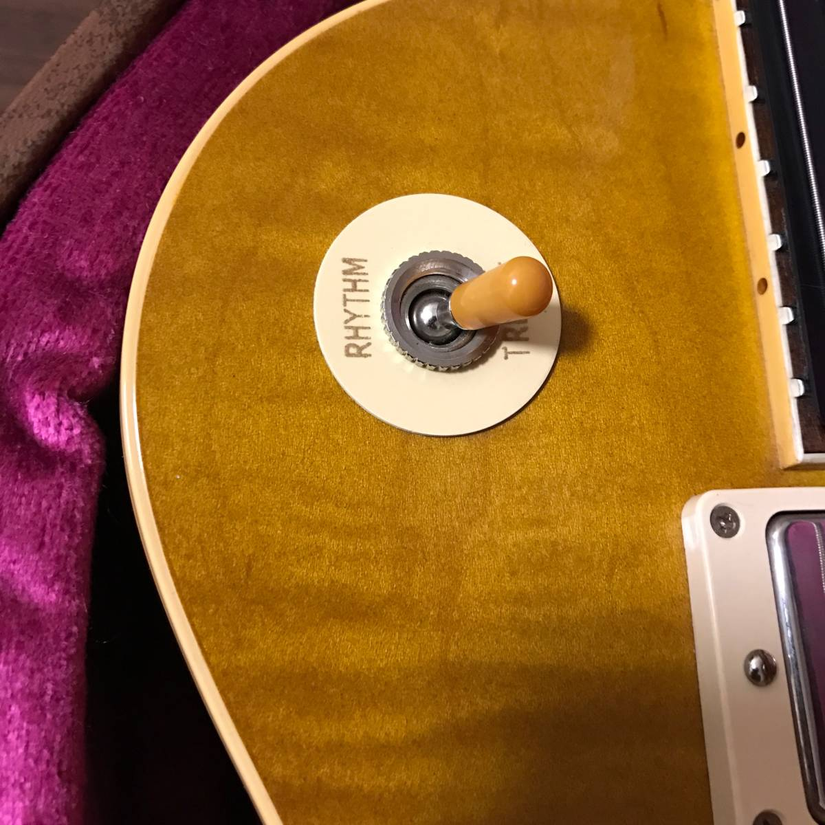Gibson Custom Shop 1958 Les Paul HRM VOS Dirty Lemon _画像10