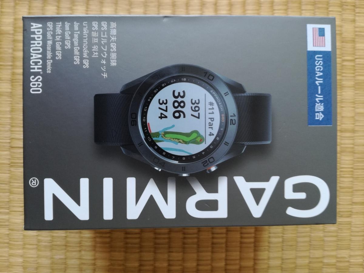 ★ ガーミン/GARMIN Approach S60 Black(日本正規品)美品★_画像3