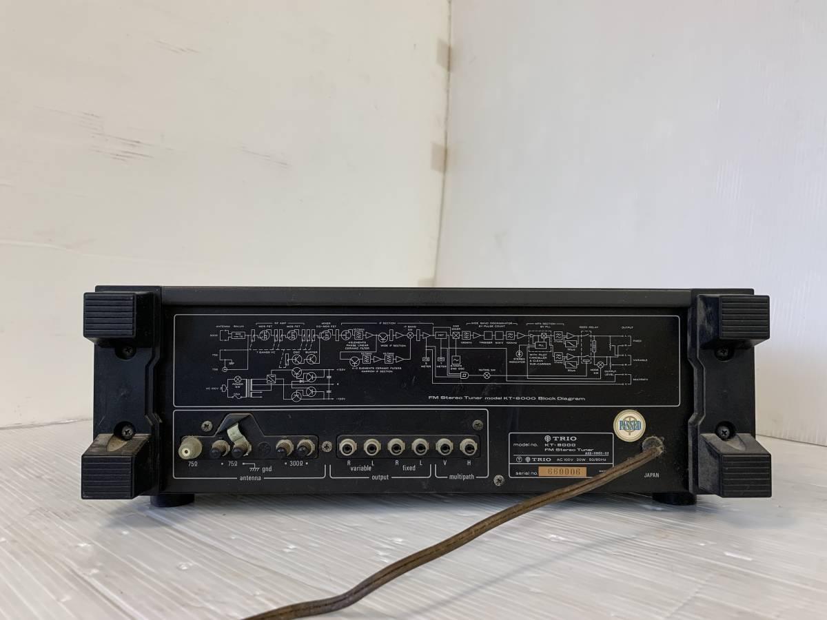 TRIO トリオ FMチューナー KT-8000 _画像3