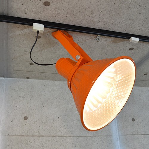 オレンジ カラー 大型 スポットライト LED 省エネ カフェ 店舗 業務用 シーリング ライブハウス ステージ 舞台 撮影 照明 DENRAI ST003_画像5