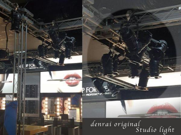 SALE 特別価格 省エネ LED スタジオライト スポット インテリア ライブハウス ステージ 照明 店舗 什器 舞台 間接 シーリング カフェ ST001_画像2