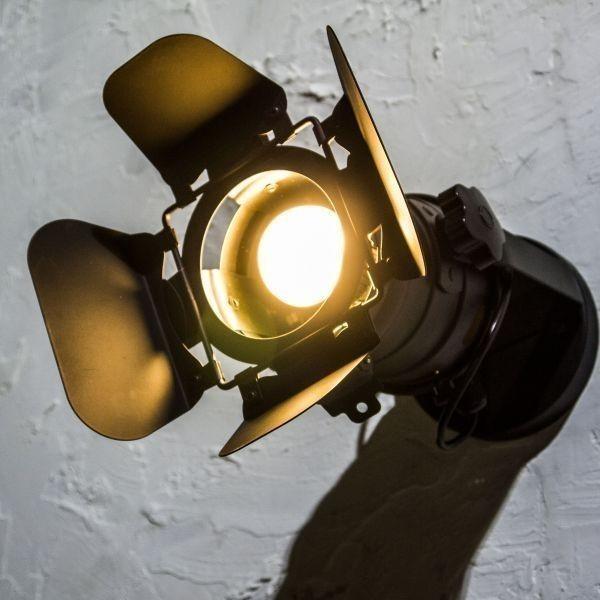 SALE 特別価格 省エネ LED スタジオライト スポット インテリア ライブハウス ステージ 照明 店舗 什器 舞台 間接 シーリング カフェ ST001_画像1