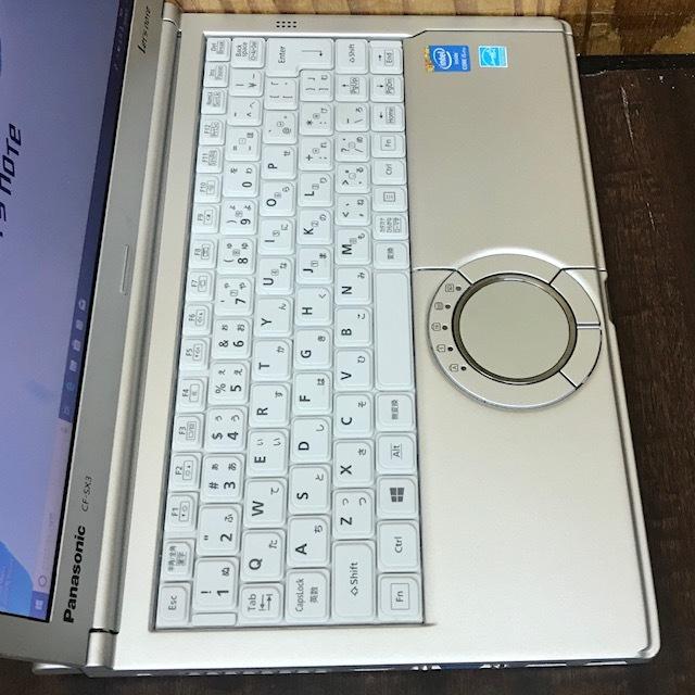 ★超高速 Panasonic Let's note CF-SX3 i5-4300U/メモリ8GB/新品SSD256GB/Office/Win10/DVDSマルチ/カメラ★_画像2