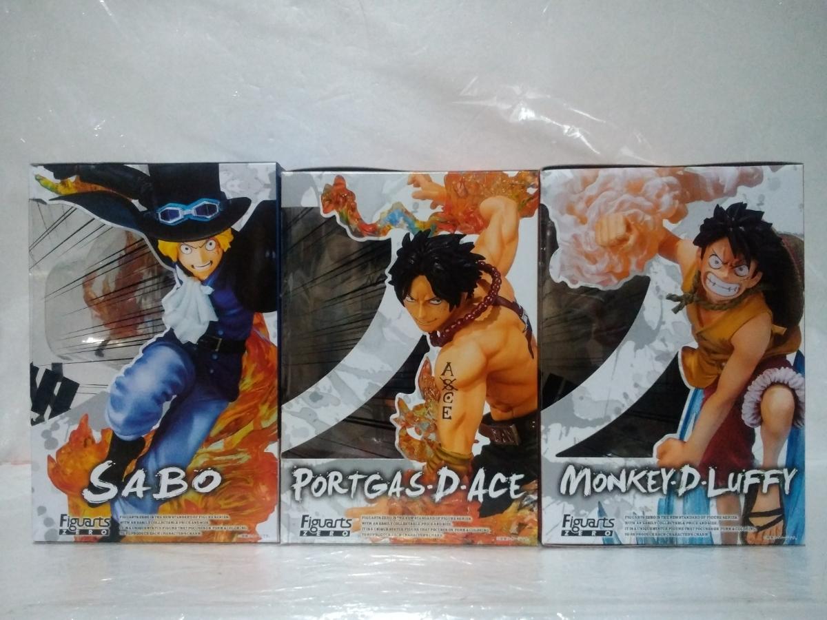 ワンピース Figuarts ZERO 火拳・兄弟の絆 サボ・ルフィ・エース 3点セット_画像2