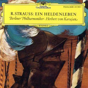 R.シュトラウス:交響詩「英雄の生涯」/ヘルベルト・フォン・カラヤン/ベルリン・フィルハーモニー管弦楽団_画像1