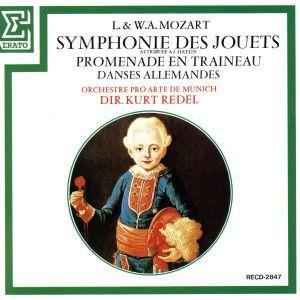 モーツァルト:おもちゃの交響曲/レーデル_画像1