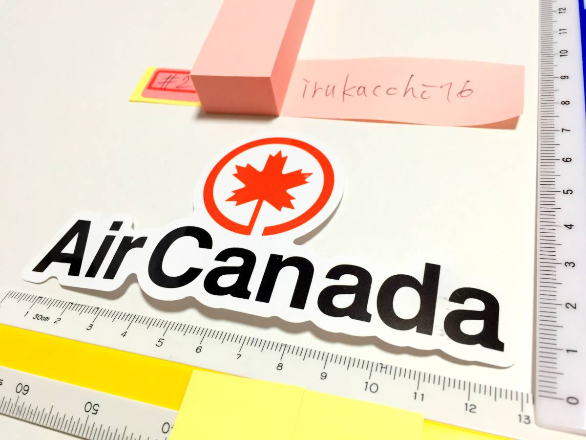 送料無料 #2 新品 Air Canada ステッカー 防水 エアカナダ シール 世界 エアライン 航空会社 ロゴマーク 即決 スーツケース