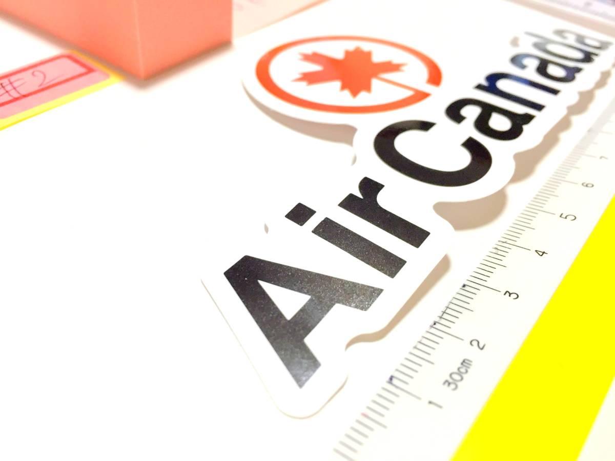 送料無料 #2 新品 Air Canada ステッカー 防水 エアカナダ シール 世界 エアライン 航空会社 ロゴマーク 即決 スーツケース_画像4