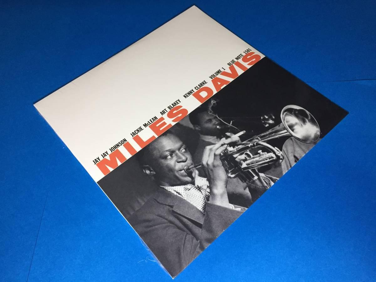 新品/2LP/ブルーノート正規盤/マイルス・デイヴィス/Miles Davis/Volume1/Volume2/Art Blakey/レコード/高音質盤/未開封/極美品_画像3