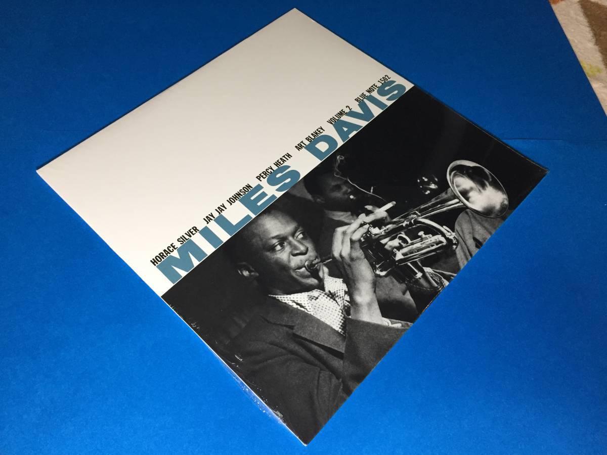新品/2LP/ブルーノート正規盤/マイルス・デイヴィス/Miles Davis/Volume1/Volume2/Art Blakey/レコード/高音質盤/未開封/極美品_画像4