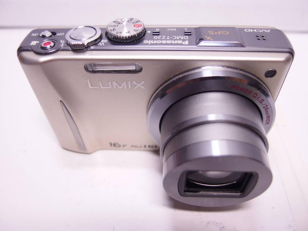 LUMIX DMC-TZ20 充電池付属 本体のみ ジャンク_画像2