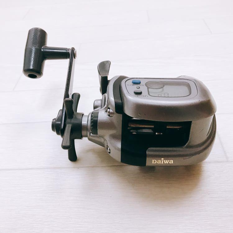 中古 1円スタート DAIWA ダイワ タナセンサーS 400DX デジタルカウンター付き両軸リール_画像2