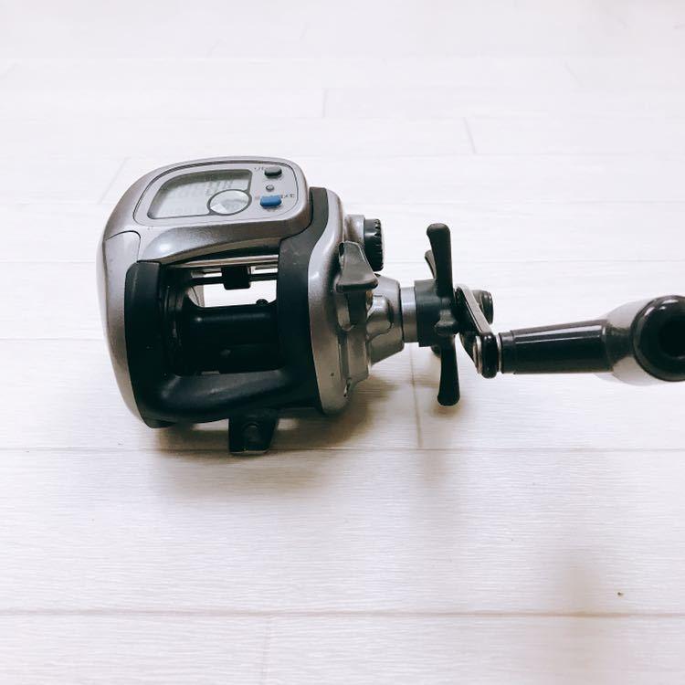中古 1円スタート DAIWA ダイワ タナセンサーS 400DX デジタルカウンター付き両軸リール_画像4