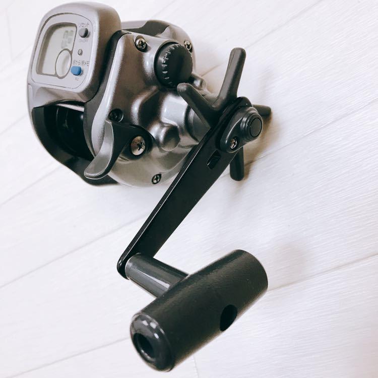 中古 1円スタート DAIWA ダイワ タナセンサーS 400DX デジタルカウンター付き両軸リール_画像9