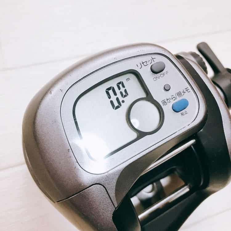 中古 1円スタート DAIWA ダイワ タナセンサーS 400DX デジタルカウンター付き両軸リール_画像10