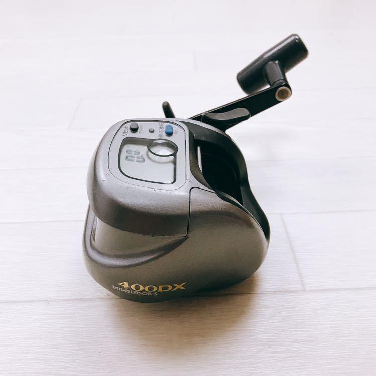 中古 1円スタート DAIWA ダイワ タナセンサーS 400DX デジタルカウンター付き両軸リール_画像3