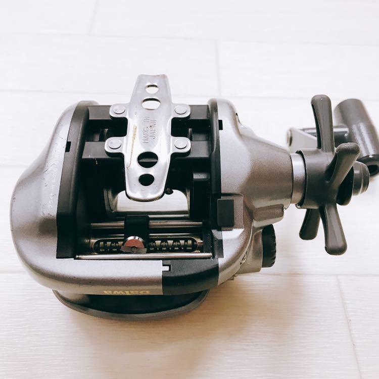 中古 1円スタート DAIWA ダイワ タナセンサーS 400DX デジタルカウンター付き両軸リール_画像6