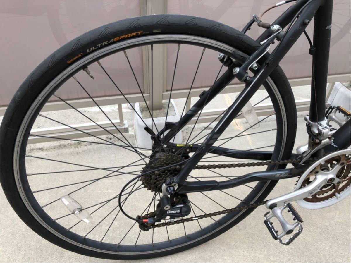 1円スタート フェルト FELT フラットバー ロード タイヤまだ使えます。引き取りのみ。現状出品_画像10