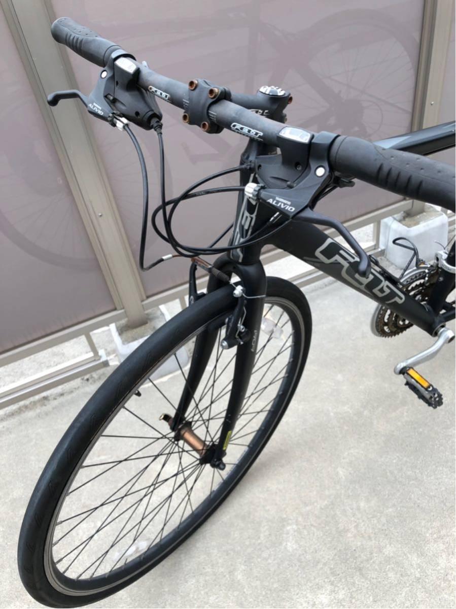1円スタート フェルト FELT フラットバー ロード タイヤまだ使えます。引き取りのみ。現状出品_画像3