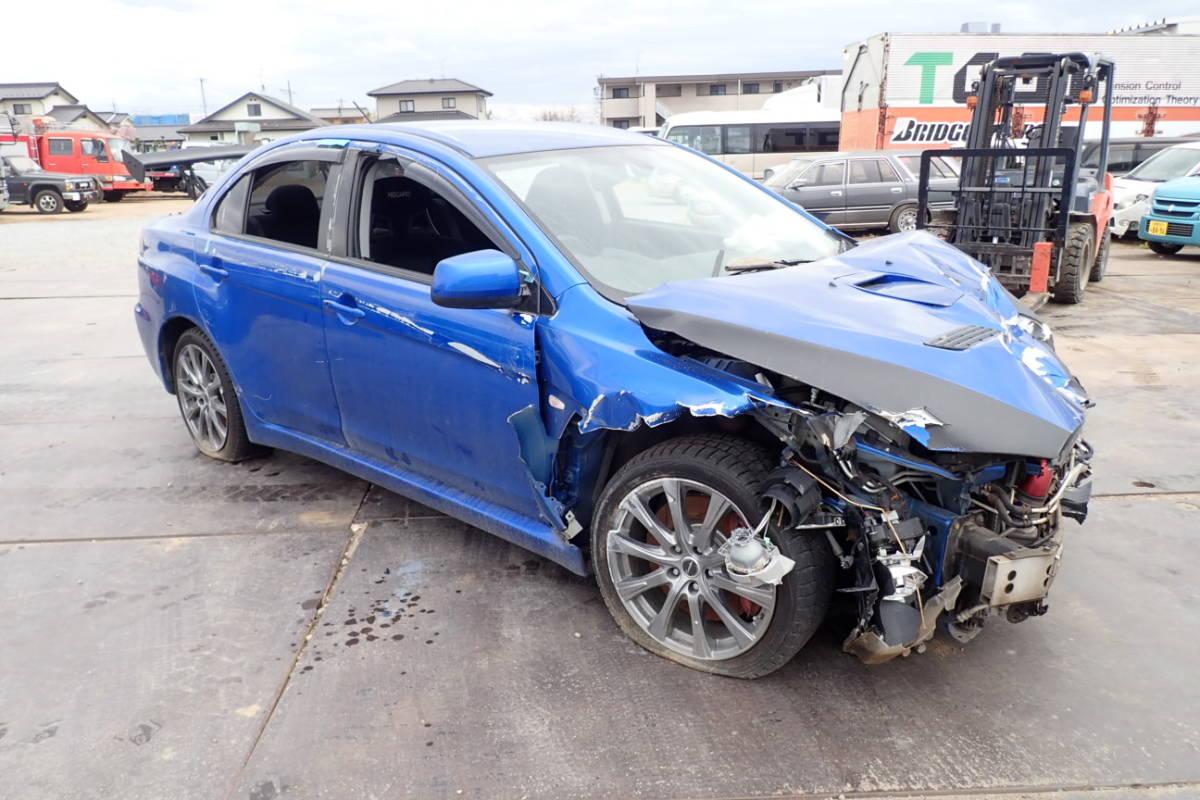 三菱 ランサーエボリューションⅩ CBA-CZ4A エボリューション10 エボ10 平成20年10月登録 事故車現状販売_画像1