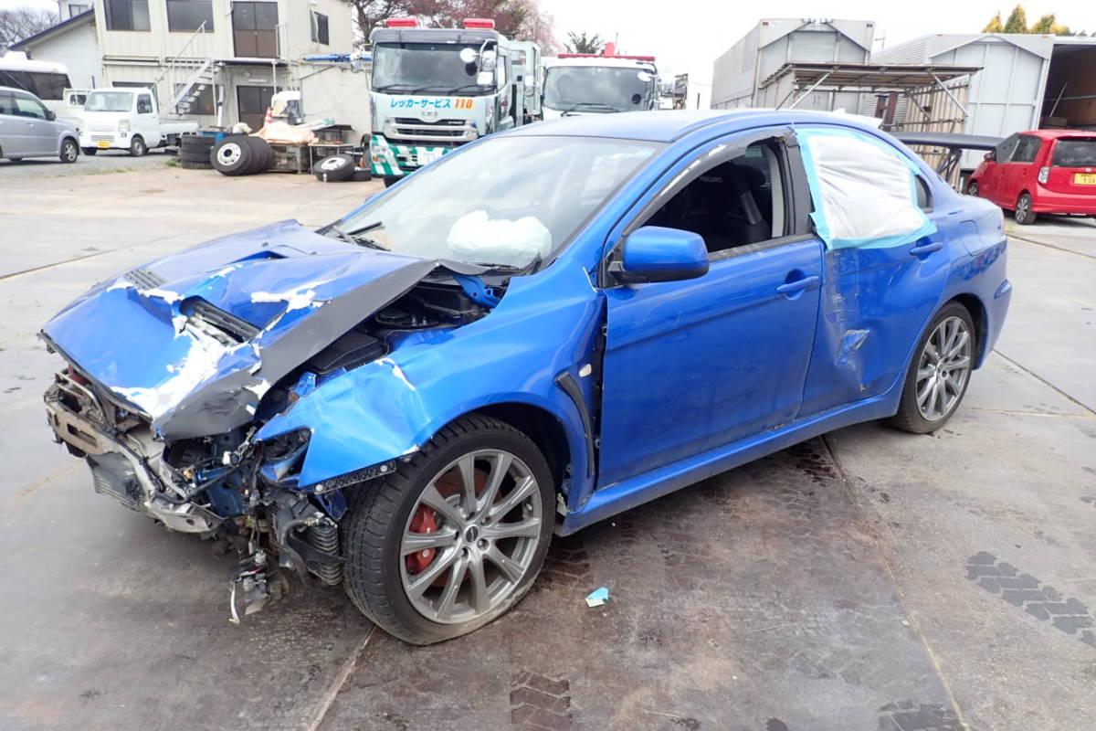 三菱 ランサーエボリューションⅩ CBA-CZ4A エボリューション10 エボ10 平成20年10月登録 事故車現状販売_画像3