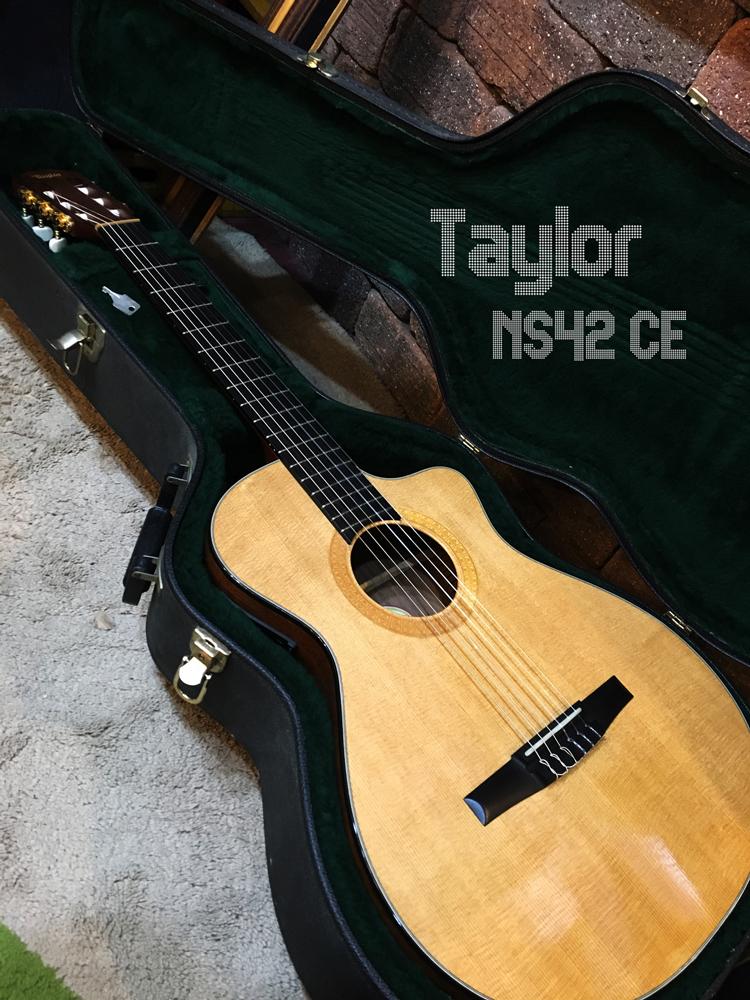 格安出品!Taylor テイラー NS42-CE ナイロン弦