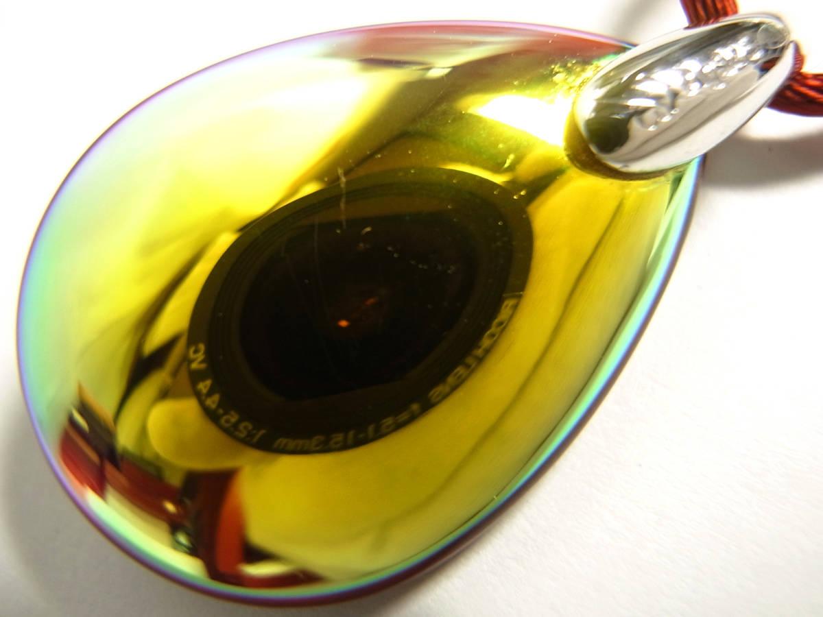 Baccarat バカラ ペンダント ネックレス チョーカー プシデリック イリゼルビー レッド 赤 クリスタルガラス シルバー オーロラ Sサイズ_画像6