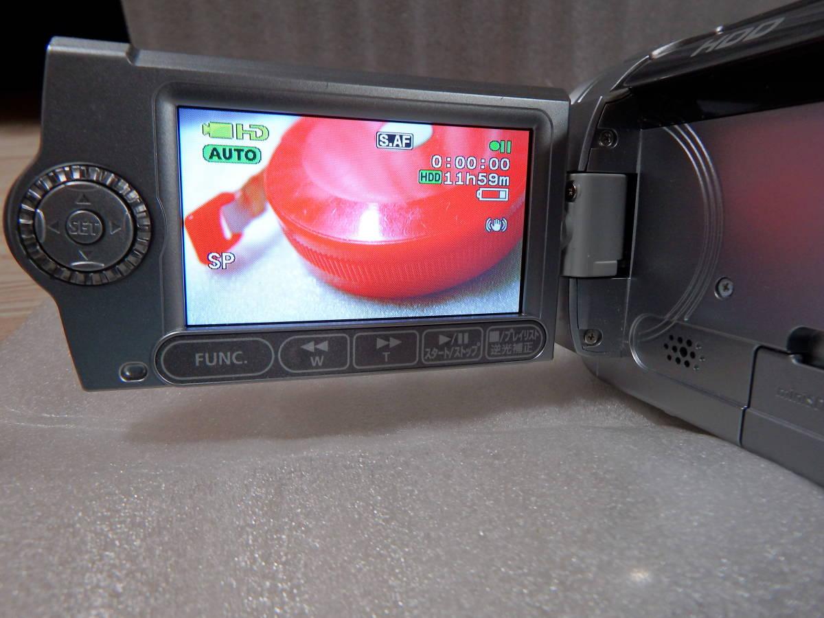 キヤノンデジタルビデオカメラ ivls HG10 中古_画像5