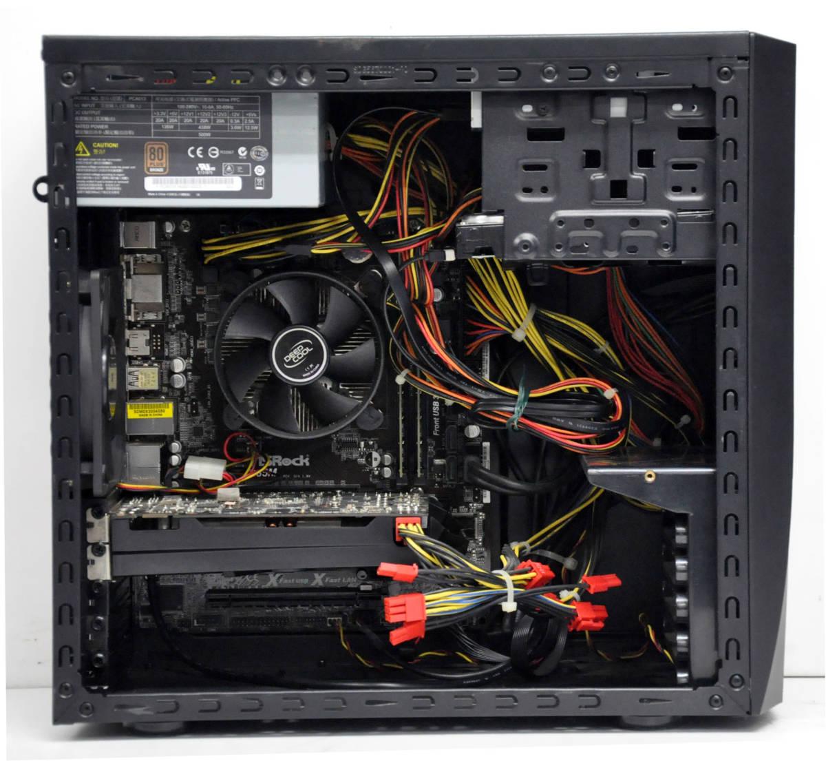 ★ 超ハイスペック GTX 660*2GB搭載 ゲーミングPC Corei7-4770 3.4GHz/ メモリ16GB / SSD240GB + 1TB / マルチ ★ GALLERIA ★ Win10_画像2