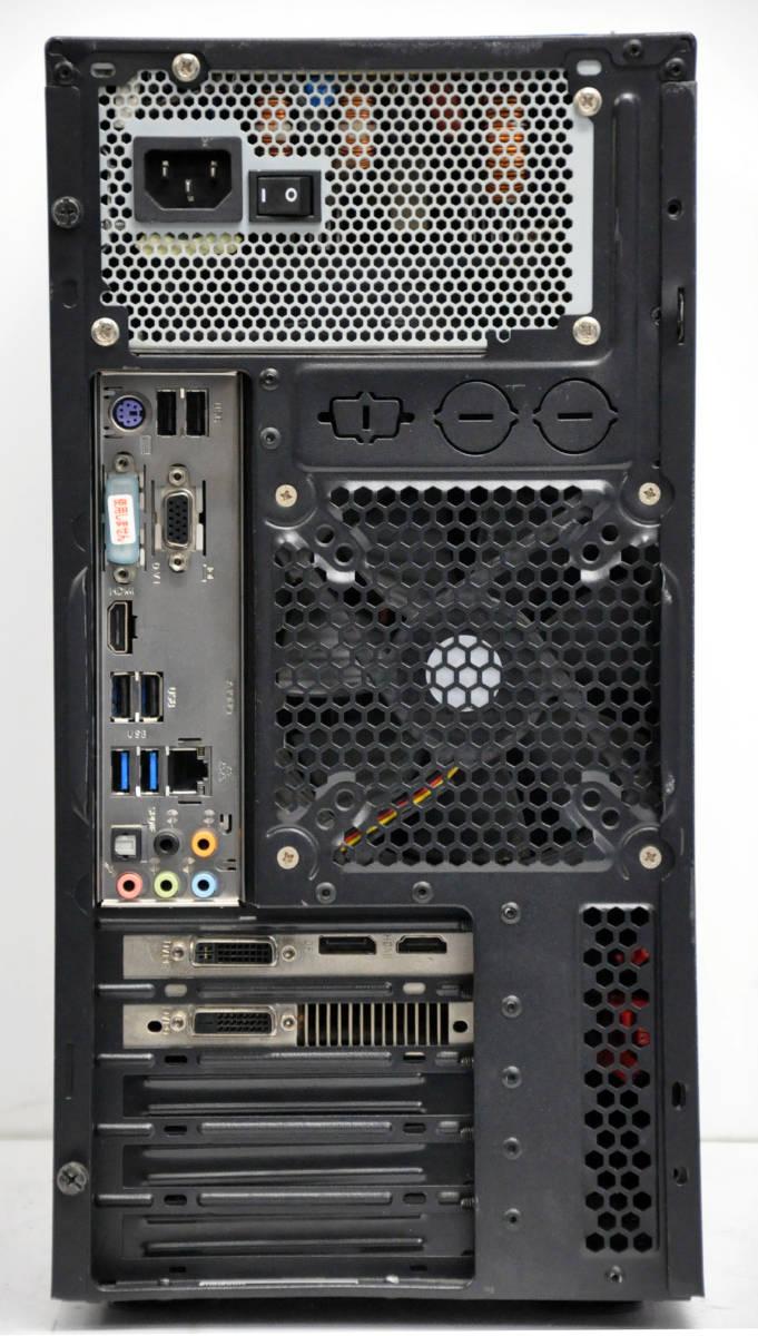 ★ 超ハイスペック GTX 660*2GB搭載 ゲーミングPC Corei7-4770 3.4GHz/ メモリ16GB / SSD240GB + 1TB / マルチ ★ GALLERIA ★ Win10_画像4
