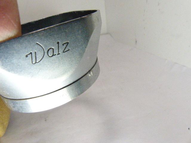 希少 WALZ 4×4 メタル角形フード ケース付_画像2