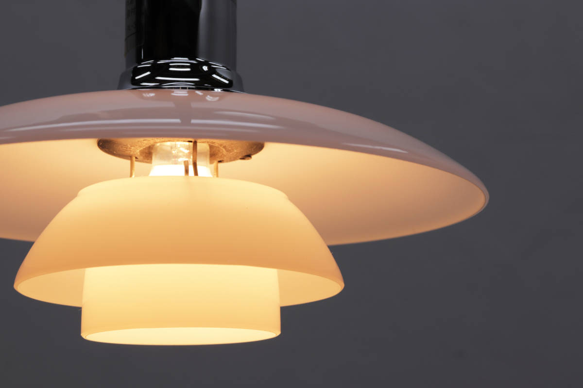 ◆Louis Poulsen PH2/1 ルイス ポールセン ペンダントライト 照明 北欧 デンマーク ガラス◆_画像9