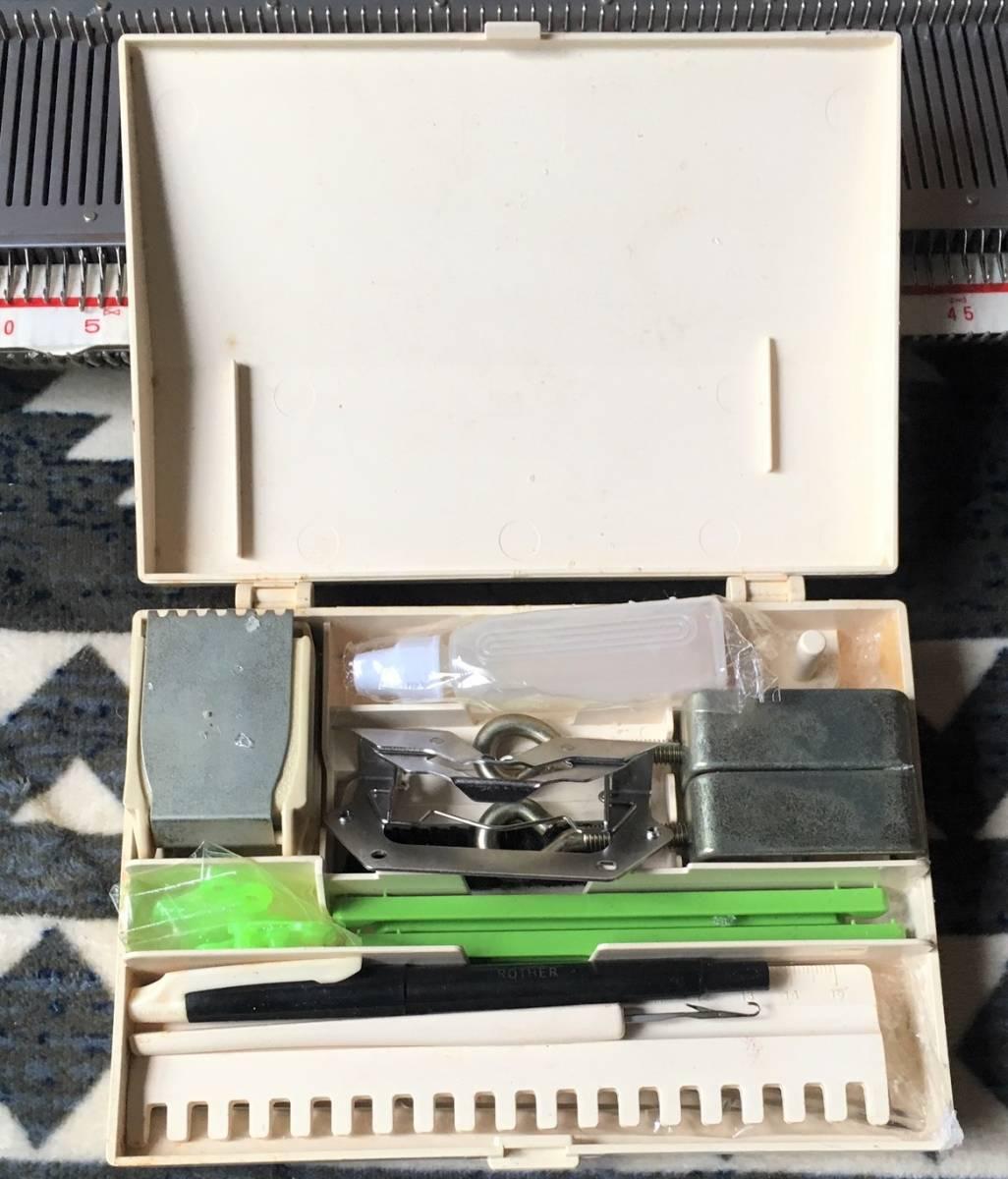 1  йен ~ 【 умение  ... личное пользование 】  brother   вязальная машинка   Palie  KH-871  вязальная машинка  brother  ретро