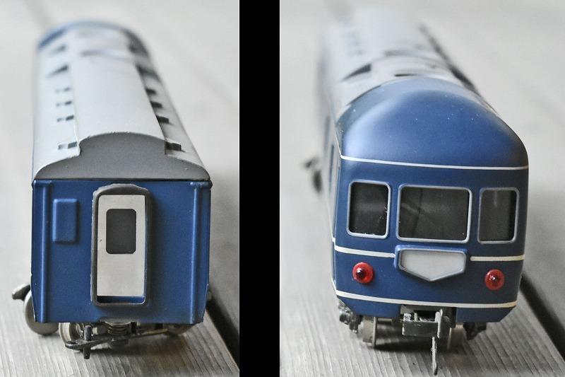 【HOゲージ】 ブルートレイン カニ21 寝台急行 銀河など KTM製 カツミ katsumi 箱付 日本製 鉄道模型 特急用固定編成客車車両 寝台特急_画像5