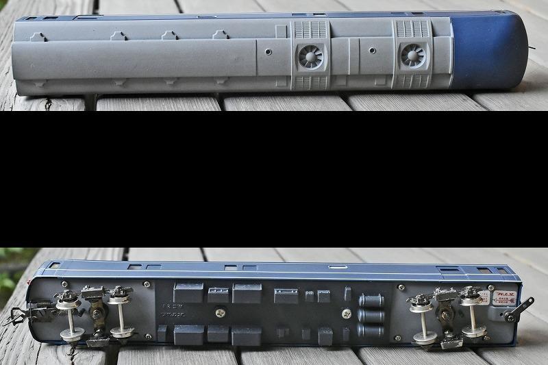 【HOゲージ】 ブルートレイン カニ21 寝台急行 銀河など KTM製 カツミ katsumi 箱付 日本製 鉄道模型 特急用固定編成客車車両 寝台特急_画像6