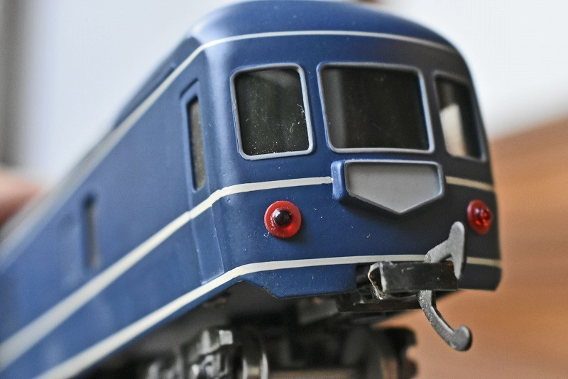 【HOゲージ】 ブルートレイン カニ21 寝台急行 銀河など KTM製 カツミ katsumi 箱付 日本製 鉄道模型 特急用固定編成客車車両 寝台特急_画像8