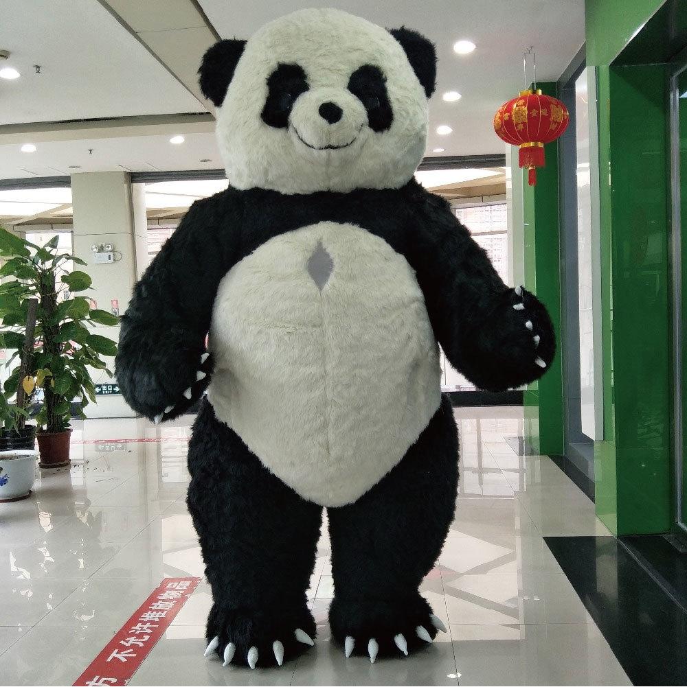 色々なイベントで大活躍します。目立つ3mのパンダです!_画像4