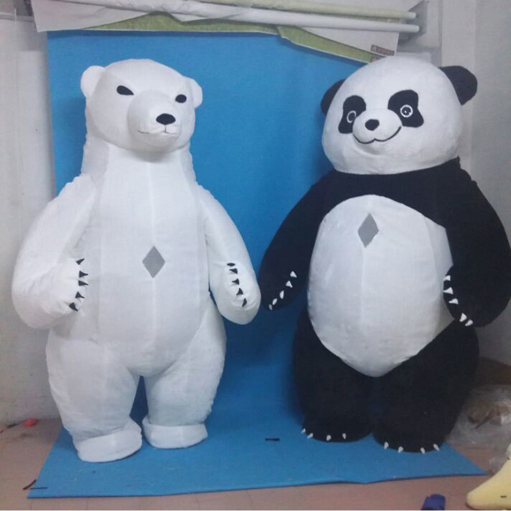 色々なイベントで大活躍します。目立つ3mのパンダです!_画像5