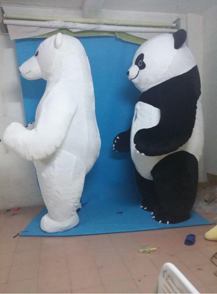 色々なイベントで大活躍します。目立つ3mのパンダです!_画像6